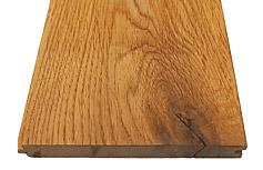 ナラ(オーク)節有 木材